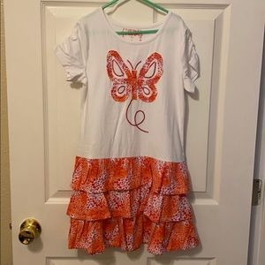 NWOT!!! Flapdoodles girls dress